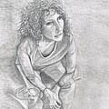 Self Portrait Of Natalie Trujillo by Natalie Trujillo