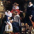 Self-portrait With Family by Jacob Jordaens