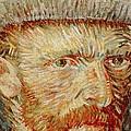 Self-portrait With Hat by Vincent van Gogh