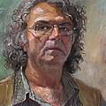 Self Portrait by Ylli Haruni