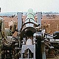 Self-propelled 8 Inch Howitzer M110 Lz Oasis R V N 1968 by California Views Mr Pat Hathaway Archives