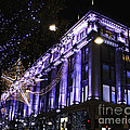 Selfridges London At Christmas Time by Terri Waters