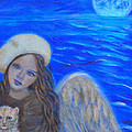 Selina Little Angel Of The Moon by The Art With A Heart By Charlotte Phillips