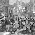Selling Hot Cross Buns On  Good Friday by  Illustrated London News Ltd/Mar