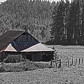 Selma Barn Scene by Mick Anderson