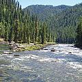 Selway River by Mike Wheeler