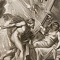 Semele Is Consumed By Jupiters Fire by Bernard Picart