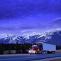 Semi-trailer Truck by Don Hammond