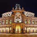 Semperoper by Delphimages Photo Creations