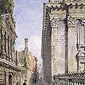 Senate House Passage, Cambridge, 1843 by Joseph Murray Ince