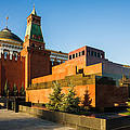 Senate Tower And Lenin's Mausoleum by Alexander Senin