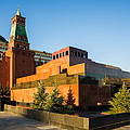 Senate Tower And Lenin's Mausoleum - Square by Alexander Senin