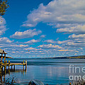 Seneca Lake At Glenora Point by William Norton