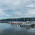 Seneca Lake Harbor - Watkins Glen - Wide Angle by Photographic Arts And Design Studio