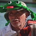 Senior Frog by Glenda L Nikirk