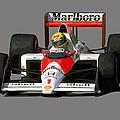 Senna '89 by Charley Pallos