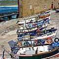 Sennen Cove Fishing Fleet by Terri Waters