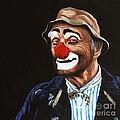 Senor Billy The Hobo Clown by Patty Vicknair