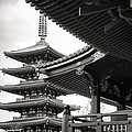 Senso-ji Temple In Tokyo  by For Ninety One Days