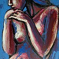 Sentimental Mood- Female Nude by Carmen Tyrrell