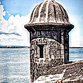 Sentry Box In El Morro Hdr by The Art of Alice Terrill