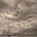 Sepia Angry Skies by James BO Insogna