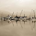 Sepia Harbor by Grigorios Moraitis
