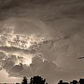 Sepia Light Show by James BO  Insogna
