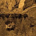 Sepia Red Rock Sedona by Deprise Brescia