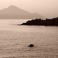 Sepia Seascape by Grigorios Moraitis