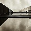 Sepia Skyscraper Series - Infinity by Steven Milner