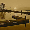Sepia Sunset by Frozen in Time Fine Art Photography