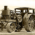 Sepia Tractor by Debbie Hart