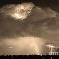 Sepiathunderstorm Boulder County Colorado   by James BO  Insogna
