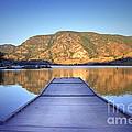 September 1st At Skaha Lake by Tara Turner