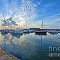 September Morning At Lyme Regis by Susie Peek