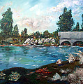 Serene River by Gail Daley