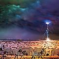 Serengeti Storm by Michael Pittas