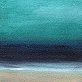 Serenity- Abstract Landscape by Linda Woods