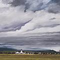 Serenity In The Skagit Valley by Pamela Heward