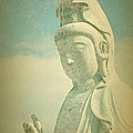 Serenity Now Buddhist Statue by Peggy Collins