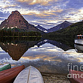 Serenity On Two Medicine Lake by Expressive Landscapes Fine Art Photography by Thom