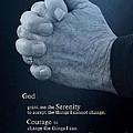 Serenity Prayer Finding Peace by Ella Kaye Dickey