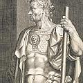 Sergius Galba Emperor Of Rome  by Titian