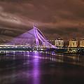 Seri Wawasan Bridge At Night by Jit Lim