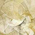 Series Abstract Art In Earth Tones 1 by Gabiw Art