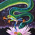 Serpent In The Garden by John Lautermilch