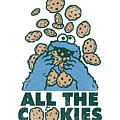 Sesame Street - All The Cookies by Brand A
