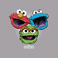 Sesame Street - Halftone Heads by Brand A
