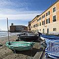 Sestri Levante And Boats by Mats Silvan